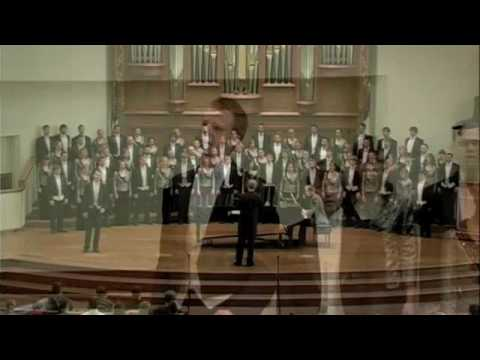 University of Nebraska-Lincoln's University Singers FARE THEE WELL, Peter Eklund conductor