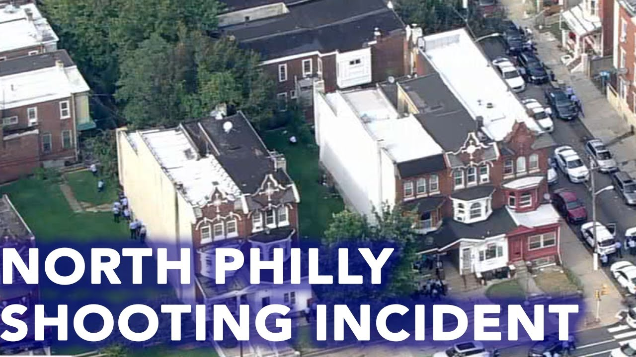 Video shows officers with guns drawn during shooting incident in Philadelphia