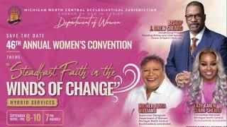 46th Annual Women's Convention   w/ Lady Karen Clark Sheard