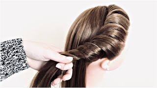 Простая и Красивая 2 минутная прическа Прически 2021 2minute Quick easy juda hairstyle for girls