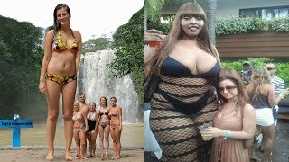 Top 10 Tallest Women in the World You Wouldn't Believe Actually Exist   World's Largest Women Ever