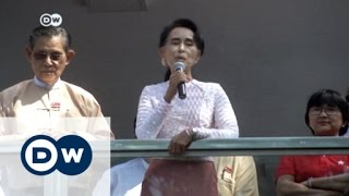 الأجواء في ميانمار بعد فوز حزب أونغ سان سوتشي | الأخبار