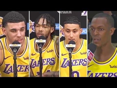 Lakers React To Having LEBRON As Their Teammate, Hes The GOAT- Rajon Rondo