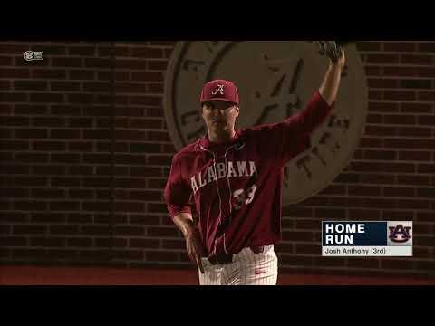 Auburn Baseball vs Alabama Series Highlights