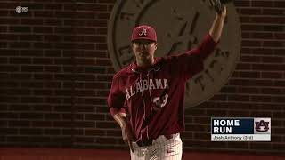 Auburn Baseball vs Alabama Series Highlights