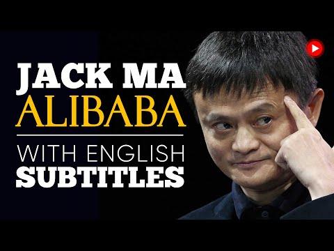 ENGLISH SPEECH   JACK MA: We Never Give Up! (English Subtitles)