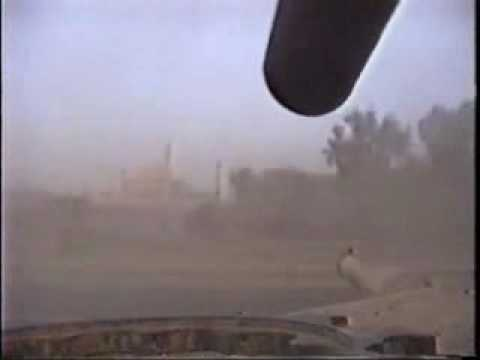 Rolling Into Baghdad On An Abrams Tank