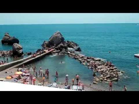 Симеиз 3 Июля 2019 Крым Пляж Башмак Посёлок