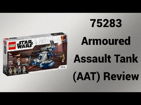 Klasse Minifiguren!   75283 Armoured Assault Tank (AAT) Review   Rpfreund2014