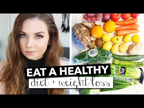 How To Eat A Healthier Diet - Weight loss & Health | Rachelleea