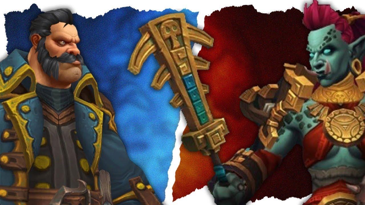 Kul Tiran Human & Zandalari Troll Unlock Requirements - Battle for Azeroth!