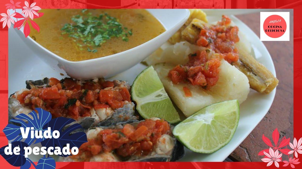 Viudo de pescado 🍲 deliciosa y fácil receta 🥘.