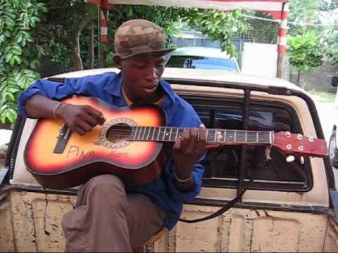 Botswana Music Guitar - KB-