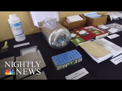 Chinese Companies Illegally Shipping Fentanyl To U.S. | NBC Nightly News