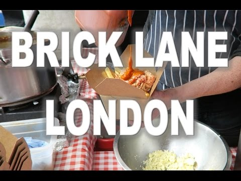Brick Lane London - Rib Man vs Poutine - Street Food Market Poutinerie