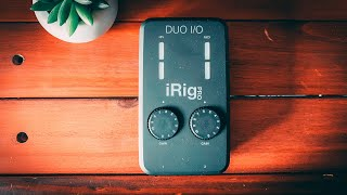iRig Pro DUO I/O - la carte son mobile !