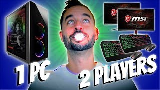 TWO GAMING PC'S IN ONE?!