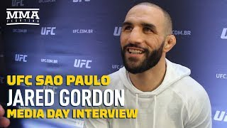 Jared Gordon Recalls Fighting In Brazil With Jose Aldo In Opposite Corner - MMA Fighting