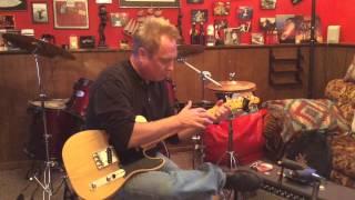 Russian Raindrops (Teardrops) On Guitar