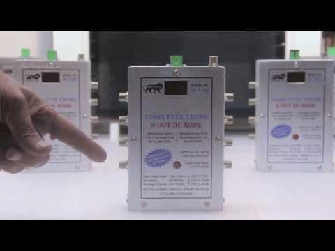 HENRICH FTTH 8 OUT DC Node Demo - CATV Equipment