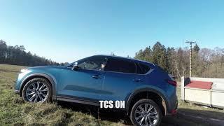 проверка системы Traction Control (TCS) на Mazda CX-5