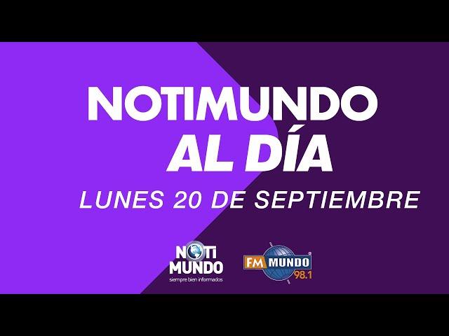 NotiMundo Al Día 20 de septiembre 2021