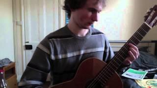 Jose Broca - El Catalan - Classical Guitar Cover By John Booth
