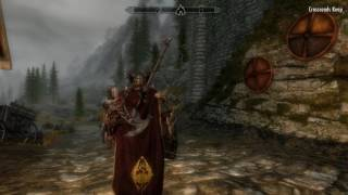 SKYRIM SPECIAL EDITION PC GAMEPLAY MAX SETTING WITH MODS ORC NASTY 5