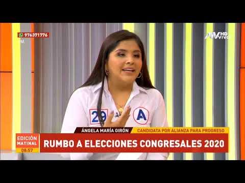 Ángela Girón Zuñiga Candidata De Alianza Para El Progreso Para El Congreso 2020