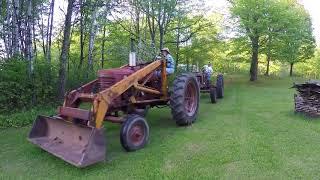 Farmall H and Super M Skidding Power Unit Engines - International