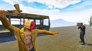 14-Player Muskets VS Runners Minigame - GTA V Online Funny Moments | JeromeACE