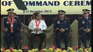 Philippine Coast Guard Change of Command 12/14/2012