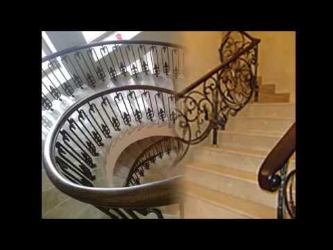 Красота кованых лестниц в доме