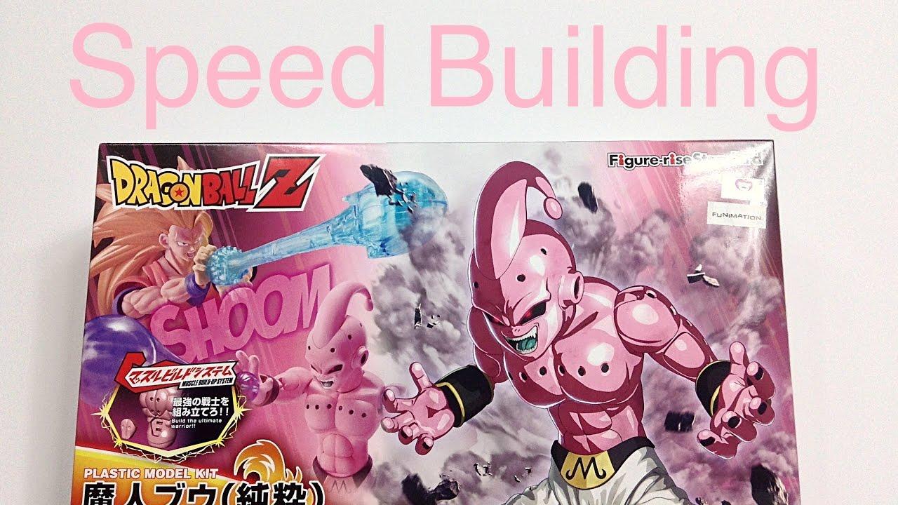 BANDAI Figure-rise Standard Dragon Ball Z KID BUU Model Kit NEW SHIPS FAST