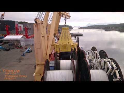 BBC FUJI discharge buoy in Kristiansund. BBC CHARTERING. Briese Schiffahrts