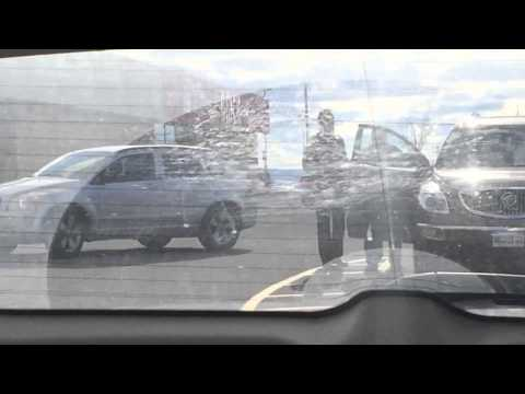 Guy records his mom getting into the wrong car