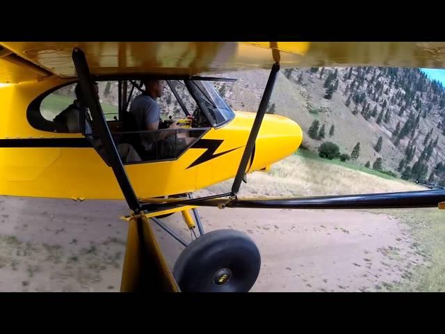 Lower Loon Creek, Idaho - Landing and Takeoff