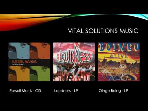 Vital solutions music