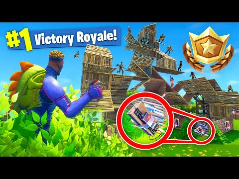 TROLLING In *COMPETITIVE* Fortnite Battle Royale!