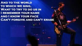 Down To My Last by Alter Bridge Lyrics