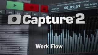 PreSonus—Capture 2—Work Flow