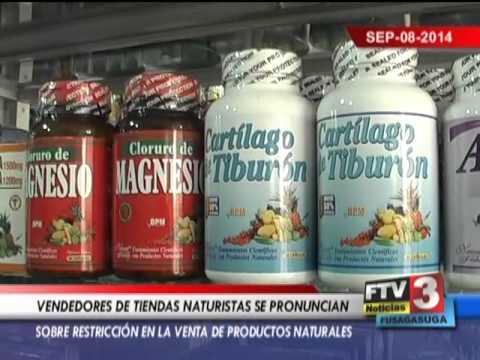 COMERCIANTES DE TIENDAS NATURISTAS PREOCUPADOS POR NUEVAS RESTRICCIONES - 08 09 2014 - FTV Noticias