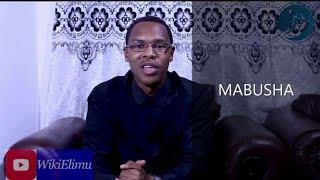 MABUSHA:Dalili,Sababu,Matibabu