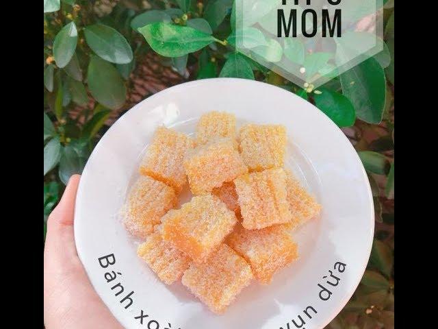 Cách Làm Bánh Xoài Lăn Vụn Dừa Cho Bé Ăn Dặm