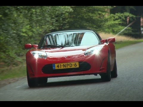 Klokje Rond - Tesla Roadster - English subtitles - High Mileage