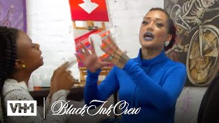 Alexis Confronts Donna At Art2Ink 'Sneak Peek' | Black Ink Crew