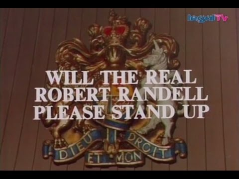 Crown Court - Will the Real Robert Randell...? (1975)
