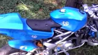 X19 110cc Pocket Bike
