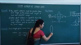 II PUC   Physics practical   Focal length of a convex lens   Physics pracical-06