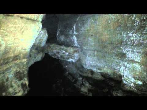 hidden Ohio cave